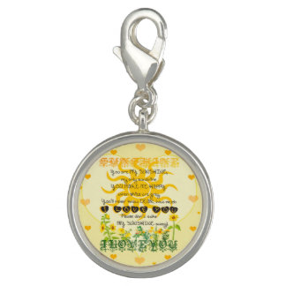You Are My Sunshine Photo Charms