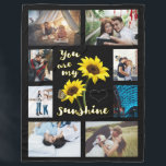 "You are my Sunshine Photo Fleece Blanket<br><div class=""desc"">Personalize this cute blanket with your own photos.</div>"