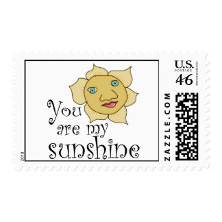 you are my sunshine stamps