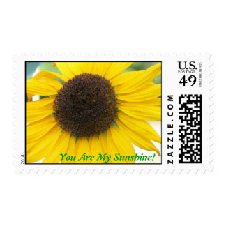 You Are My Sunshine Postage Stamp