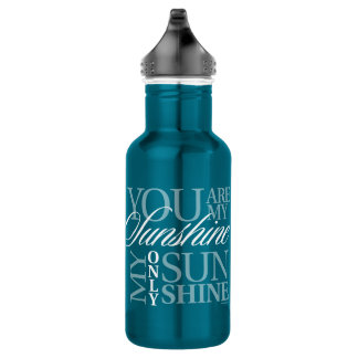 You Are My Sunshine Stainless Steel Water Bottle