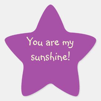 """You Are My Sunshine!"" Sticker"
