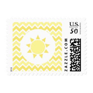 You are my sunshine sun postage stamp