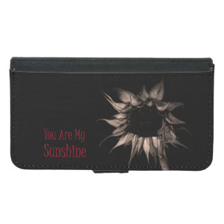 You Are My Sunshine Sunflower Cute Unique Cool Wallet Phone Case For Samsung Galaxy S5