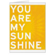 You Are My Sunshine (sunshine yellow)