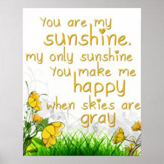 """You Are My Sunshine"" Wall Art"