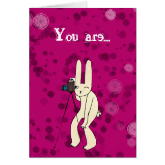 You are my superstar card
