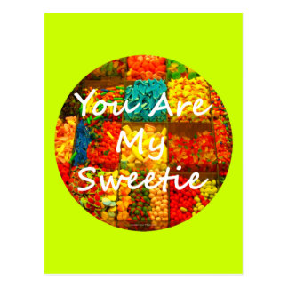 You Are My Sweetie Postcard