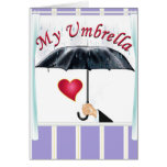 You are My Umbrella Cards