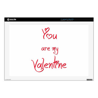 """You Are My Valentine 17"""" Laptop Skins"""