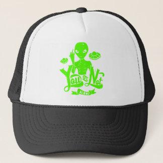 You Are Not Alone Alien Trucker Hat