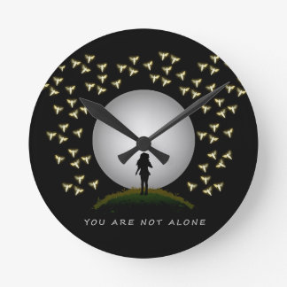You Are Not Alone Angel Message of Hope Clock