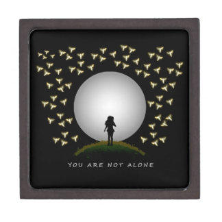 You Are Not Alone Angel Message of Hope Premium Trinket Box