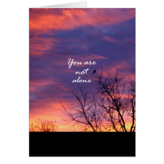 You Are Not Alone Greeting Card
