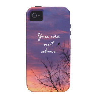 You Are Not Alone iPhone 4/4S Cover