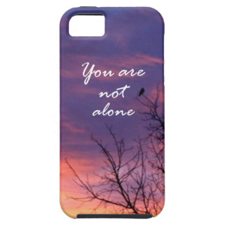 You Are Not Alone iPhone 5 Cover
