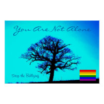 You are not Alone/LGBT Poster