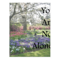 You Are Not Alone Postcard