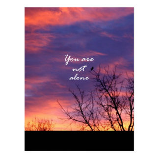You Are Not Alone Post Card
