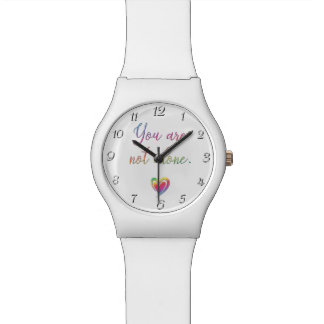 You Are Not Alone Wrist Watch