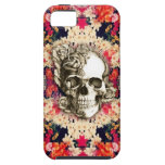 You are not here Day of the Dead floral art iPhone 5 Cases