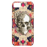 You are not here floral day of the dead skull iPhone 5C cases