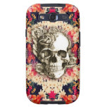 You are not here floral rose skull art. galaxy s3 case