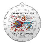 You Are Nothing But A Pack Of Neurons Dartboard