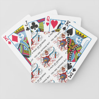 You Are Nothing But A Pack Of Neurons (Synapse) Bicycle Playing Cards