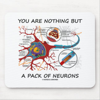 You Are Nothing But A Pack Of Neurons (Synapse) Mousepad