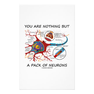 You Are Nothing But A Pack Of Neurons (Synapse) Stationery