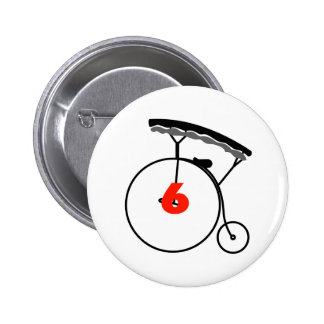 You are Number 6! 2 Inch Round Button