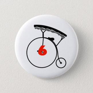 You are Number 6! Button