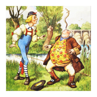 You Are Old, Father William - Alice in Wonderland Canvas Print