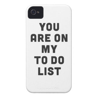 You are on my to do list Case-Mate iPhone 4 cases