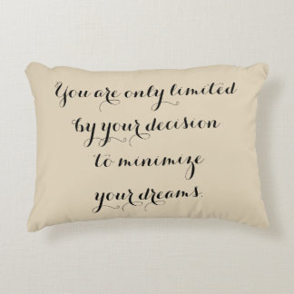You Are Only Limited... Accent Pillow