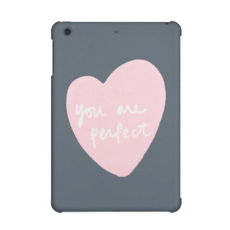 You Are Perfect Stormy Weather Pink And Blue Gray iPad Mini Covers
