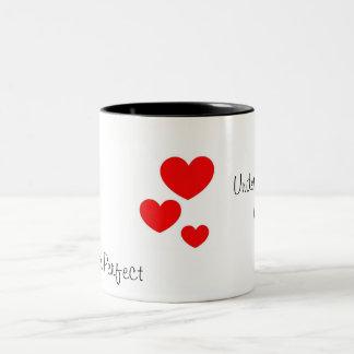 You are Perfect Two-Tone Coffee Mug