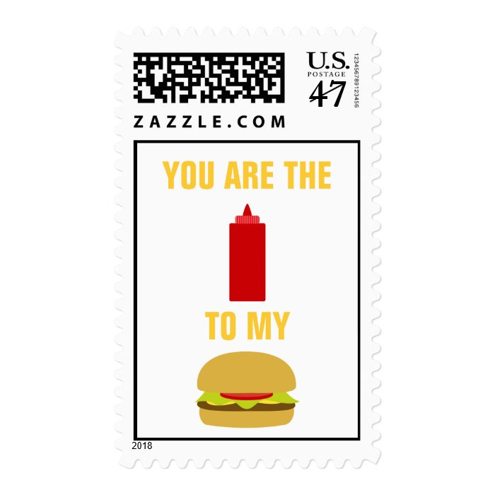 YOU ARE... POSTAGE STAMP