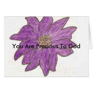 You Are Precious To God Card