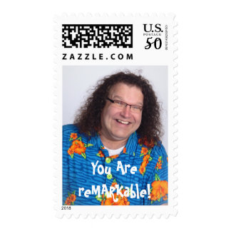 You Are reMARKable! Vertical Postage