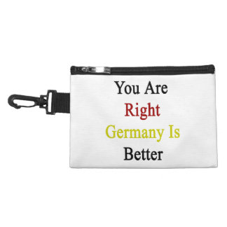You Are Right Germany Is Better Accessories Bag