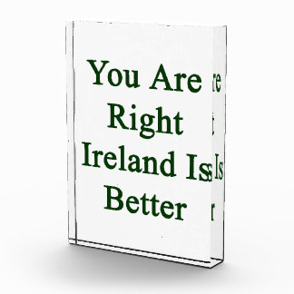 You Are Right Ireland Is Better Awards