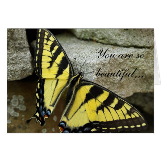 You Are So Beautiful Greeting Card