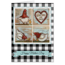 You Are So Loved Chickens - Mother's Day Card