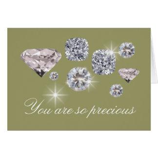 You are so precious card