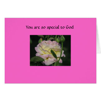 You are so special to God Card