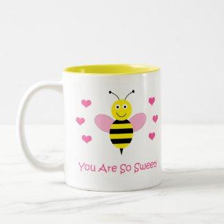 You Are So Sweet Mug - Bumble Bee