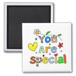 You Are Special 2 Inch Square Magnet