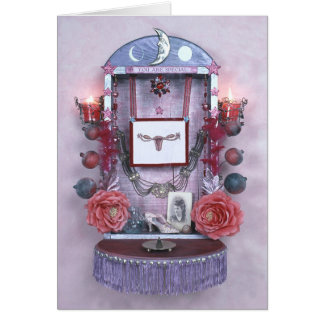 You are Special Altar greeting card by Hoshi Hana